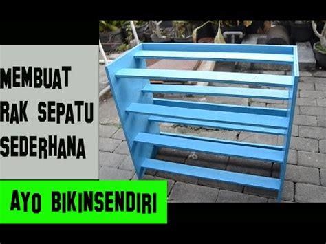 Rak Sepatu Gantung Sederhana membuat tools cabinet lemari peralatan funnycat tv