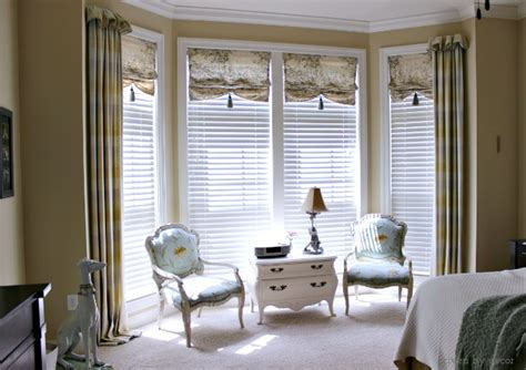 master bedroom window treatments window treatments for those tricky windows driven by decor