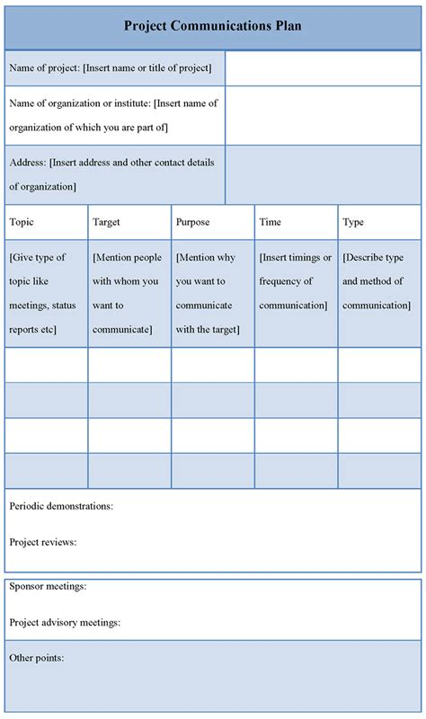 communications planning template 100 communications planning template mergers and