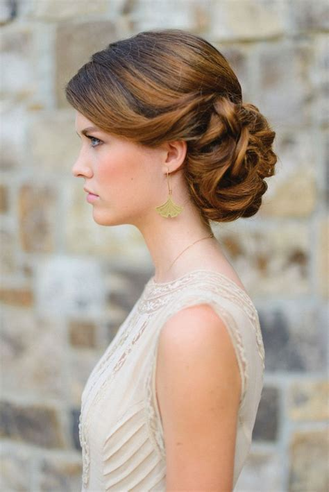 17 Best ideas about Thick Hair Updo on Pinterest   Hair