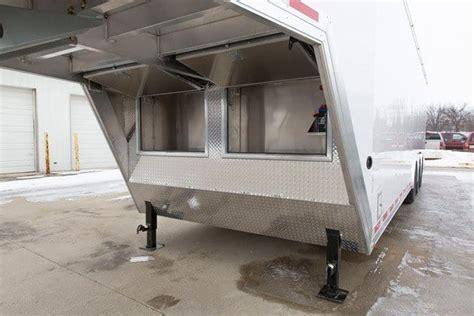 ft aluminum gooseneck cargo trailer mo great dane