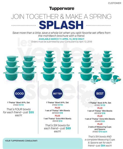 Sale Bowl Tupperware save 50 thatsa bowls by tupperware allsales ca