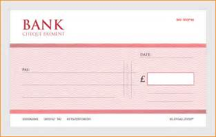 blank cheque template uk order cheap large single use presentation cheques