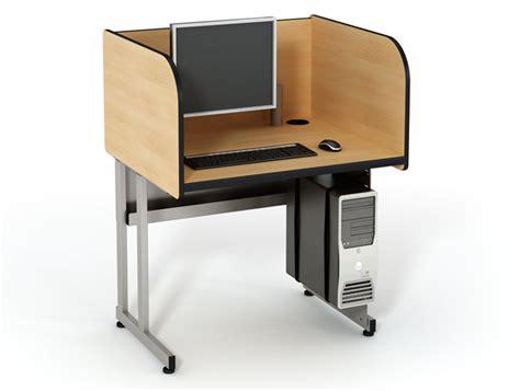 computer comfort testing carrel classroom furniture computer comforts
