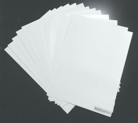 Label Paper - a4 a3 offset packaging destructible vinyl label papers