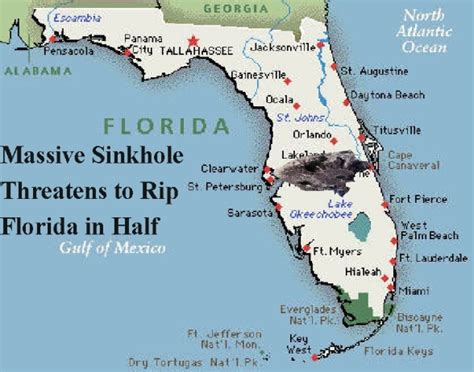 sinkhole map of florida i said laugh dammit march 2013