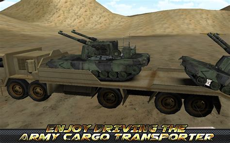 Cargo Army 4 6 army truck cargo transport 3d 1 1 apk android