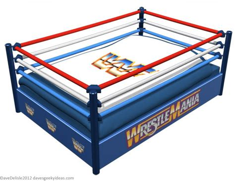 wrestling bed geeky beds part 2 wrestling ring dave s geeky ideas