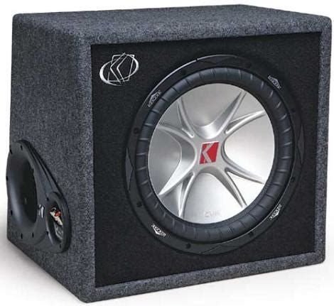 Subwoofer Kickers Cvr 12 Original Murah kicker vcvr12 4 r car audio comp cvr 12 quot sub enclosure 07vcvr12 4 rs