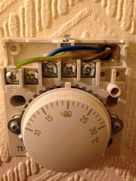 replacing a honeywell t40 thermostat diynot forums