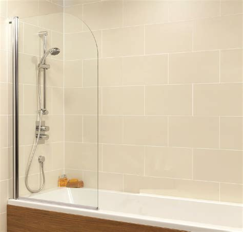 ended bath with shower duo singled ended 1800x800mm bath and shower screen with 6mm glass radius
