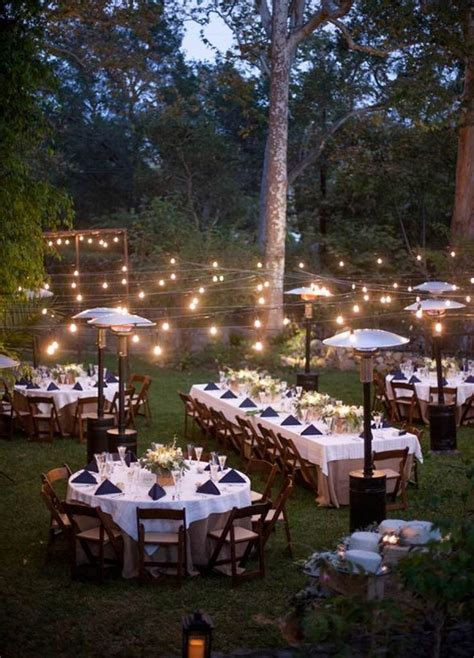 romantic backyard wedding 17 best ideas about romantic backyard on pinterest