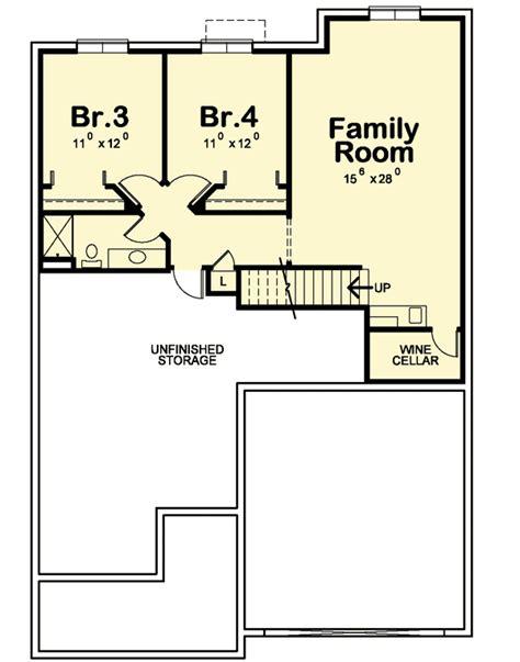 european floor plans 3 bedroom european cottage 42343db architectural