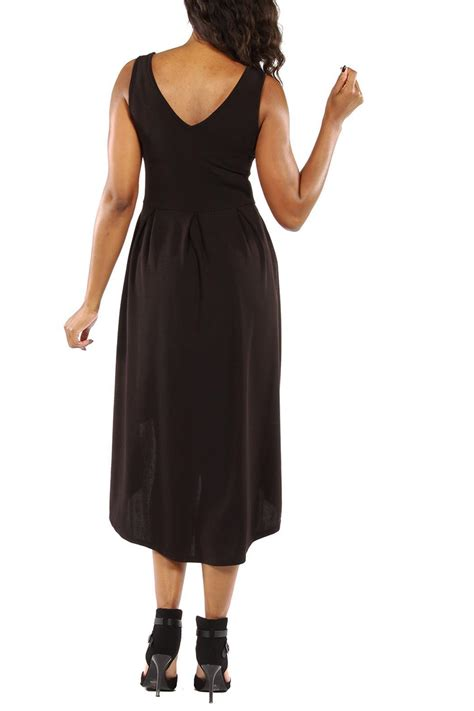 24 7 comfort apparel 24 7 comfort apparel high low dress from california by the