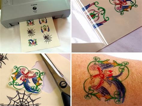 inkjet tattoo paper uk doverpictura blog combing the craft aisle tattoo decal paper