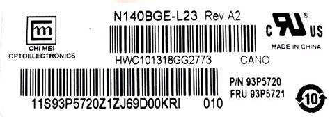 Led 14 0 Lenovo G470 G475 pantalla 14 0 led ltn140at07 lenovo g470 g475 g405 g465