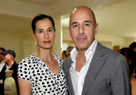 what man does matt lauer think is so handsome who is annette roque matt lauer s wife stood by him for