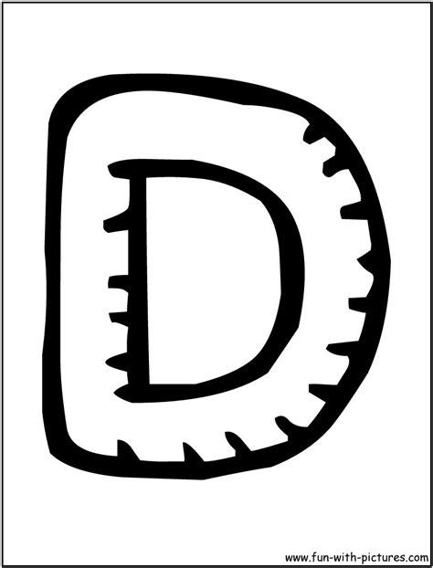 letter d coloring pages   Only Coloring Pages