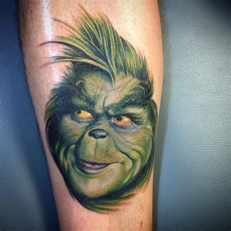 grinch tattoo designs 10 best grinch tattoos