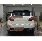 Wald International Porsche Cayenne Black Bison Kit 9