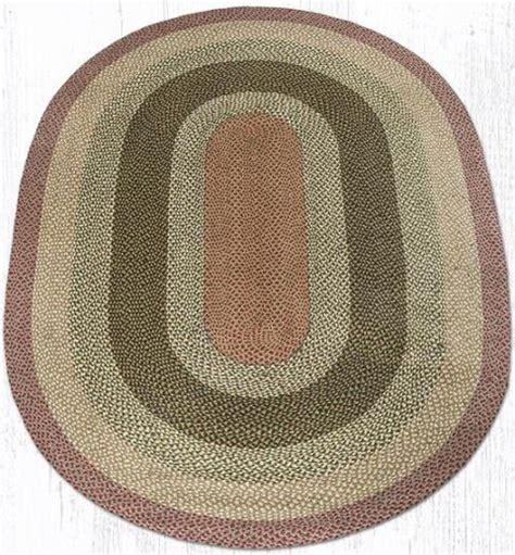 oval rugs 6x9 c 024 olive burgundy gray oval braided rug 6x9