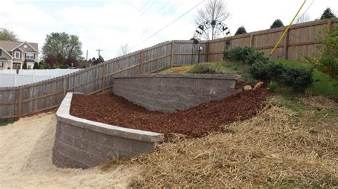 Sloped Backyard Retaining Wall by Suppliers Nc Va Marshall Part 2