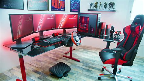 Ultimate Youtuber Setup Giveaway - the best gaming setup of 2016