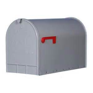 home depot mailbox gibraltar mailboxes jumbo heavy duty post mount mailbox