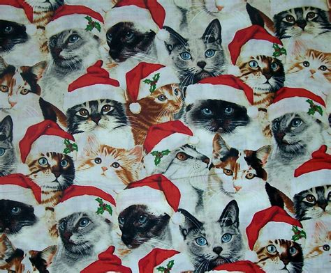 cat wallpaper collage holiday christmas santa hat cat wallpaper