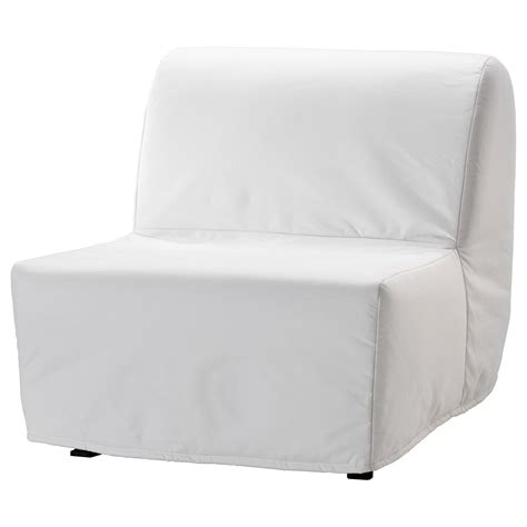 armchair bed ikea lycksele l 214 v 197 s chair bed ransta white ikea