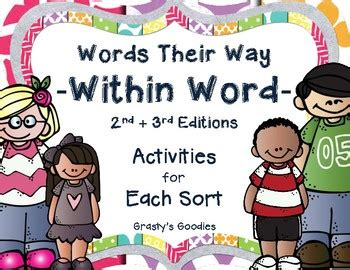 Words Their Way Within Word Pattern Spellers A