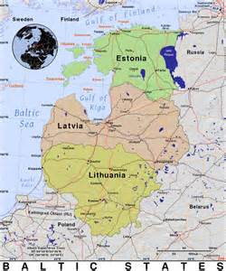 Baltic States Map by Baltic States 183 Public Domain Maps By Pat The Free Open