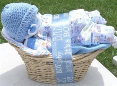 Handmade Baby Shower Gift Ideas - creative baby shower gift basket ideas wblqual