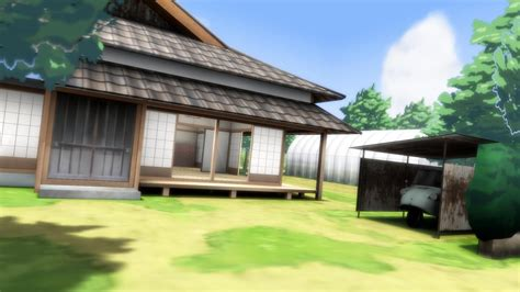 mmd stage anime traditional house dl by chrnodroid