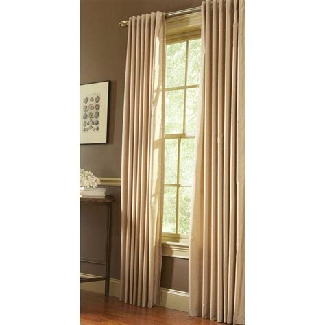 martha living curtains martha stewart faux silk room darkening curtains curtain