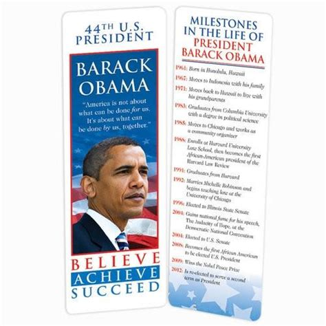 biography barack obama timeline president obama bookmark with timeline it s a black