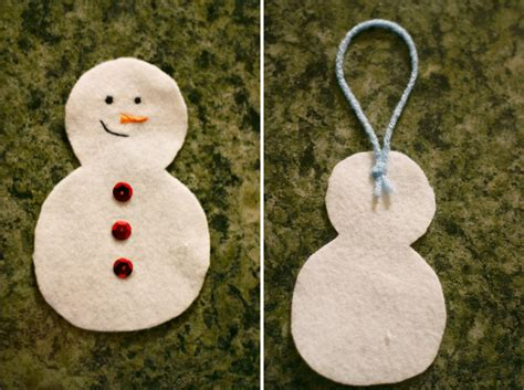 Handmade Snowman Ornaments - handmade snowman ornament 3 days till just