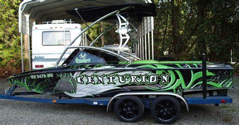 centurion boat wrap boats