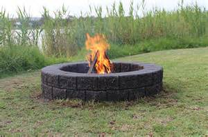 Build Your Own Firepit How To Build Your Own Pit Lifestyle Home