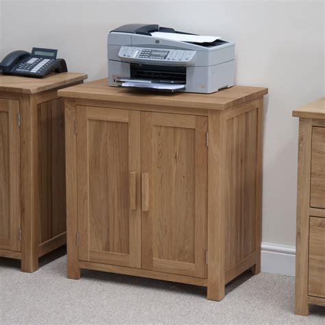 printer cabinet windsor solid oak furniture office computer printer