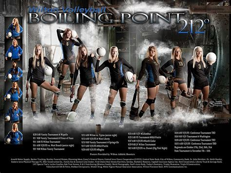 sports team photo templates boiling point composite sports poster a sports template