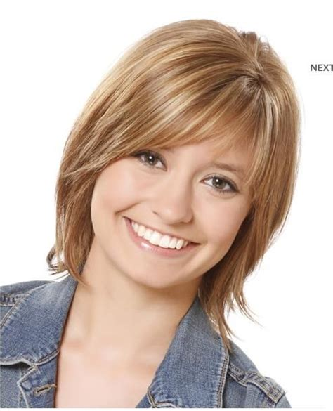 over 40 hair short with straight bangs hairstyles for round faces and thin hair and over 40