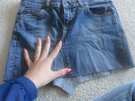 Pattern For Turning Jeans Into A Skirt | turn old jeans into skirt sewing projects burdastyle com