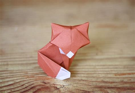 Kawaii Origami - origami fox randommization