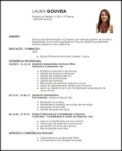 Modelos Curriculum Vitae Para Administrativos Modelo De Currculum Vitae Para El Trabajo Plantillas