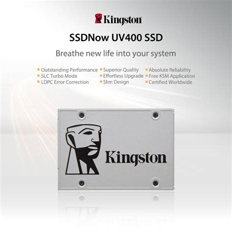 Dijamin Ssd Kingston Uv400 Suv400 120gb Sata3 kingston 120gb a400 sata3 2 5 ssd solid state drive