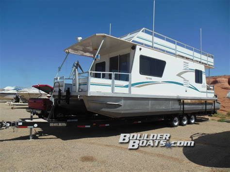 boulder boats vegas myacht houseboats 2005 3512 with only 70 hours super easy