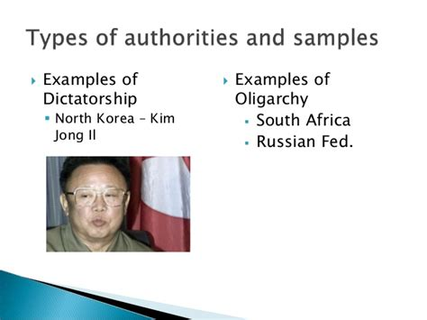 dictactorship and oligarchy