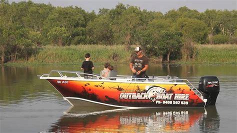 boat values australia outback boat hire darwin australia youtube