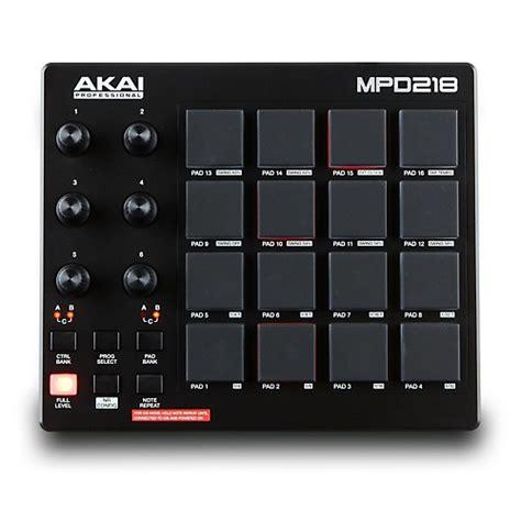 Usb Pad Stick Getar Controller Pc akai professional mpd218 pad controller guitar center